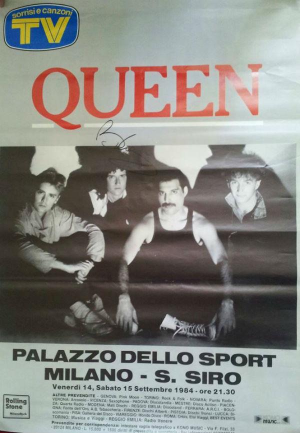 Tour Poster, Milano 1984