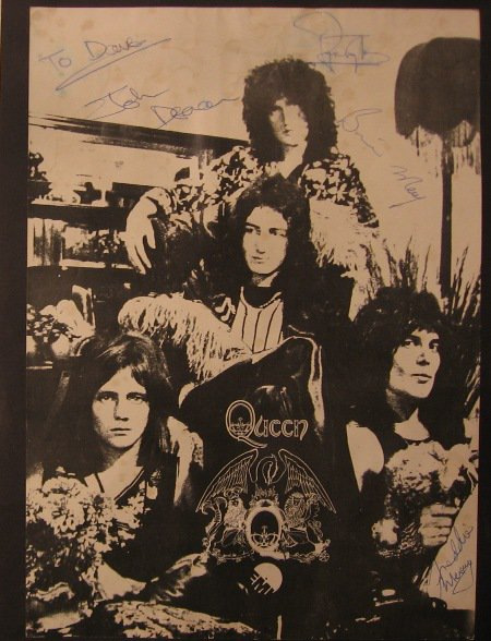QUEEN I Tour flyer