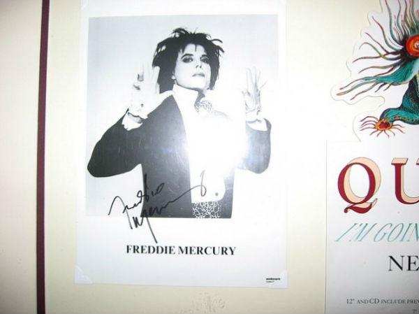 Foto promo ufficiale Freddie, 1991