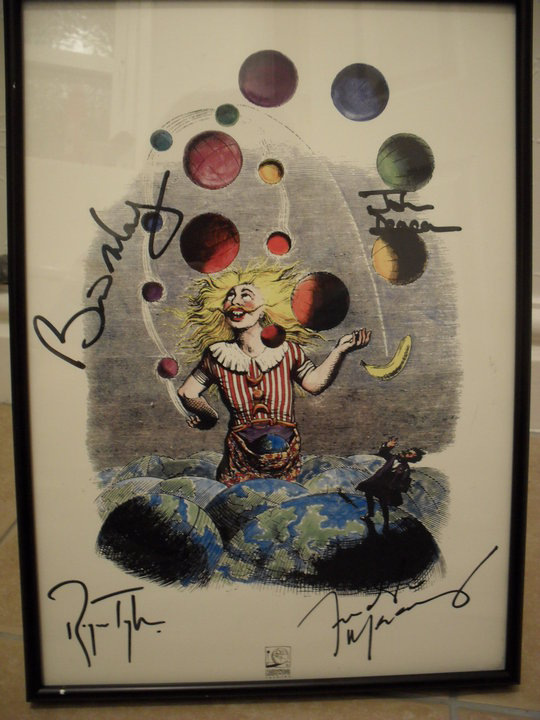 Poster di Innuendo, fully signed