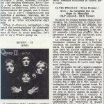 Ciao2001, 3 novembre 1974: la recensione di QUEEN II
