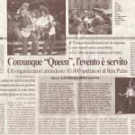 """QueenItalia su """"Il Messaggero"""", Aprile 2005"""
