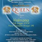 Queen & QueenItalia a Vinilmania, 1° edizione